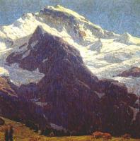 Эдгар Пейн. Снежные горы