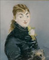 Эдуар Мане. Портрет Мэри Лоран с моськой