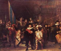 Рембрандт Харменс ван Рейн. Ночная стража