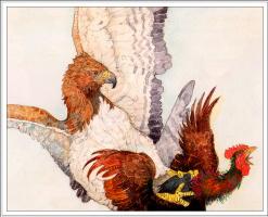 Джерри Пинкни. Петухи и орел