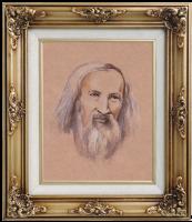 Иван Александрович Долгоруков. Портрет Д.И. Менделеева