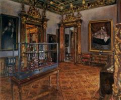 Рафаэль Цидонча. Портрет на стене