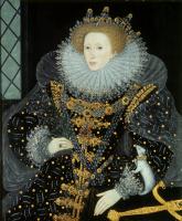 Nicholas Hilliard. Portrait of Queen Elizabeth I. Ermina