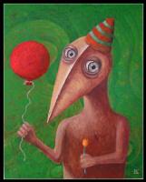 Лешек Костуй. Лесник с красным шаром
