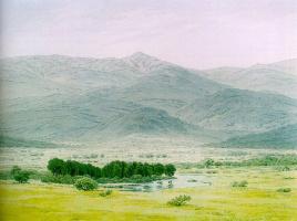 Каспар Давид Фридрих. Пейзаж в Исполиновых горах