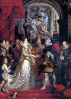 Peter Paul Rubens. Absentee marriage in Florence