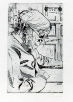 Умберто Боччони. Чтение