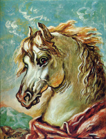 Джорджо де Кирико. Лошадь