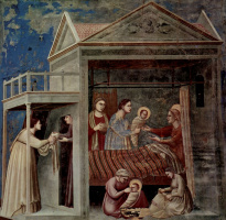 Джотто ди Бондоне. Рождение Марии