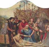 Квентин Массейс. Положение во гроб