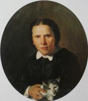 Николай Васильевич Неврев. Портрет А. Д. Коншиной. 1859