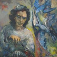 Михаил Юдовский. Играющий птицам