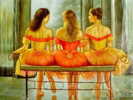 Гуань Зе-Джу. Балерины 1