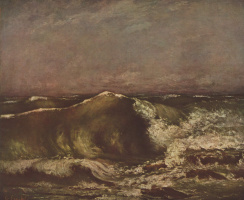 Gustave Courbet. Marine shaft