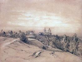 Алексей Кондратьевич Саврасов. Воробьевы горы близ Москвы