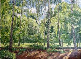 Boris Nikolayevich Gladchenko.. Landscape, b \ n