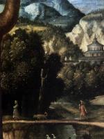 Бернардино Луини. The Penitent St. Jerome- фрагмент