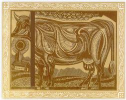 Стивен Алкорн. Корова