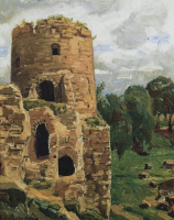 Аполлинарий Михайлович Васнецов. Башня