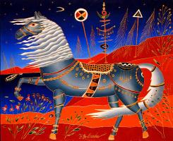Юрий Горбачев. Серая лошадь