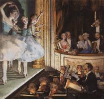 Константин Андреевич Сомов. Русский балет