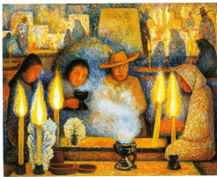 Diego Maria Rivera. Day of the dead