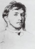 Валентин Александрович Серов. Автопортрет