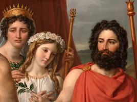 Jacques-Louis David. The Wrath Of Achilles. Fragment