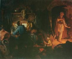Николай Васильевич Неврев. Дети скупого. 1864