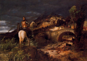 Arnold Böcklin. The approach
