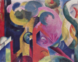 Franz Marc. Composition III
