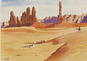 Хесус Эльгера Аусенсиа. Пустыня