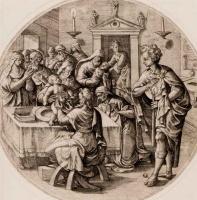 Ван Брук. Обрезание младенца Христа