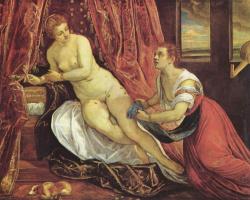 Jacopo Tintoretto. Danae
