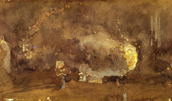 James Abbot McNeill Whistler. Fire wheel