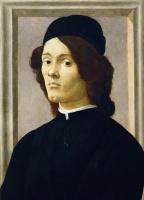 Sandro Botticelli. Portrait of a man
