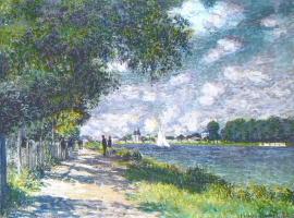 Клод Моне. Сена в Аржантёе
