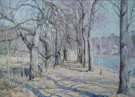 Boris Petrovich Zakharov. Blue alley.