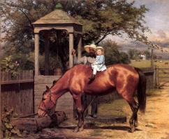 Сеймур Джозеф Гай. Лошадь