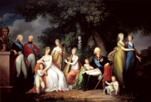 Gerhard Franz von Kügelgen. Paul I, Maria Feodorovna and their children