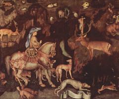 Антонио Пизанелло. Видение св. Евстафия