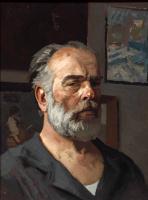 Гелий Михайлович Коржев. Автопортрет