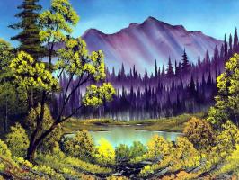 Боб Росс. Скрытое озеро
