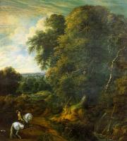 Корнелий Гюисманс. Всадник на белом коне