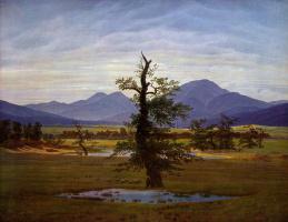 Каспар Давид Фридрих. Одинокое дерево