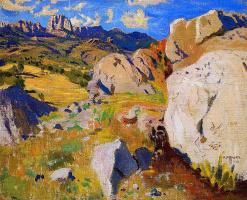 Аркадий Александрович Рылов. Горы в Крыму