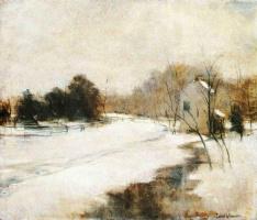Джон Генри Твахтман. Зима в Цинциннати