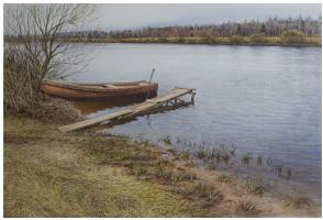 Sergey Alekseevich Makarov. Boat