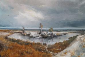 Юрий Николаевич Кручинкин. Берег реки