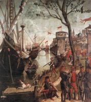 Витторе Карпаччо. Прибытие паломников в Кельн